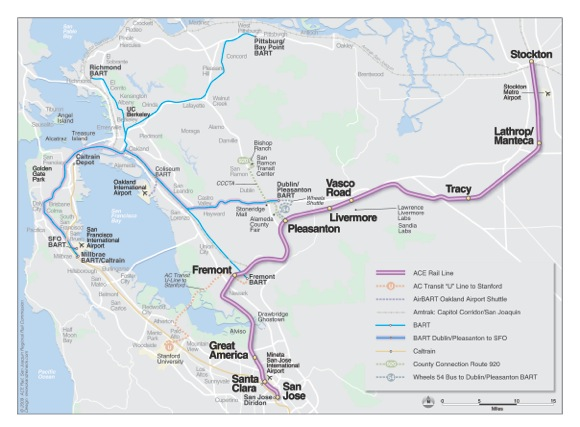 Maps Multiple Stops >> Bay Area Transportation Maps: BART, MUNI, Caltrain & more ...